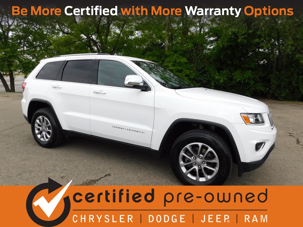 Jeep Certified Pre-Owned >> Certified Pre Owned 2016 Jeep Grand Cherokee Limited 4d Sport