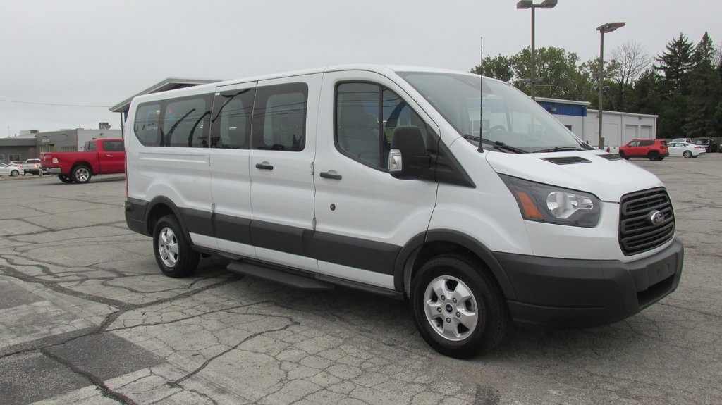 Pre Owned 2018 Ford Transit 350 Xl 3d Low Roof Wagon In Richmond