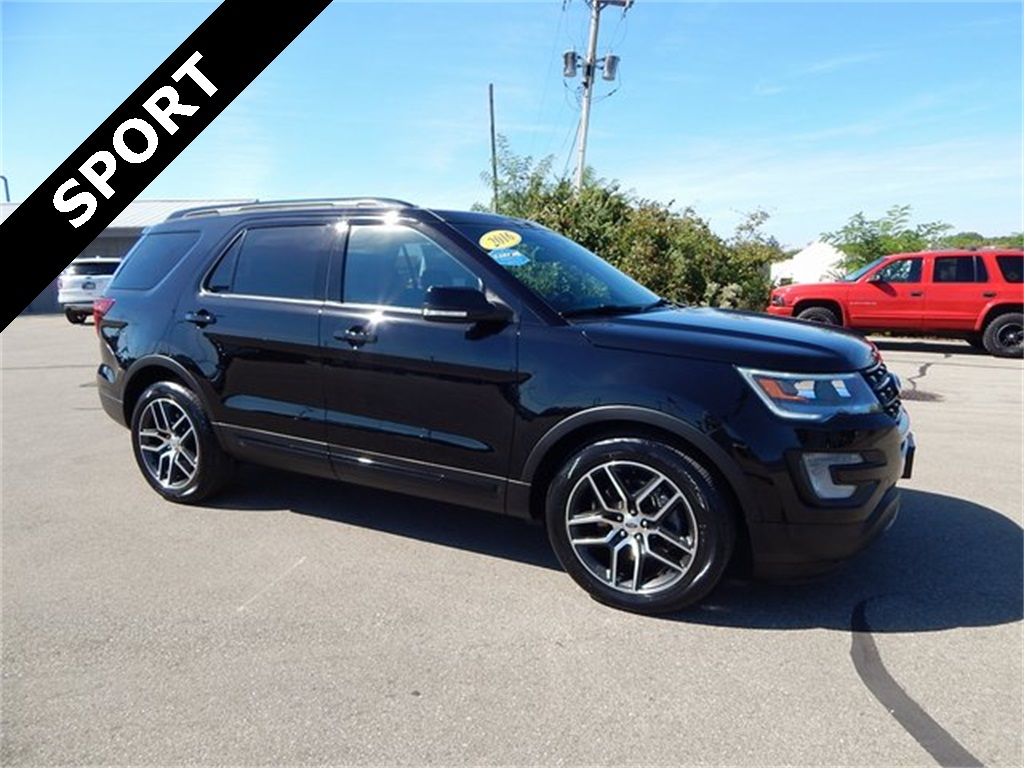 Pre owned 2016 ford explorer sport