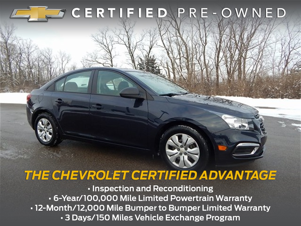 Certified Pre-Owned 2015 Chevrolet Cruze LS