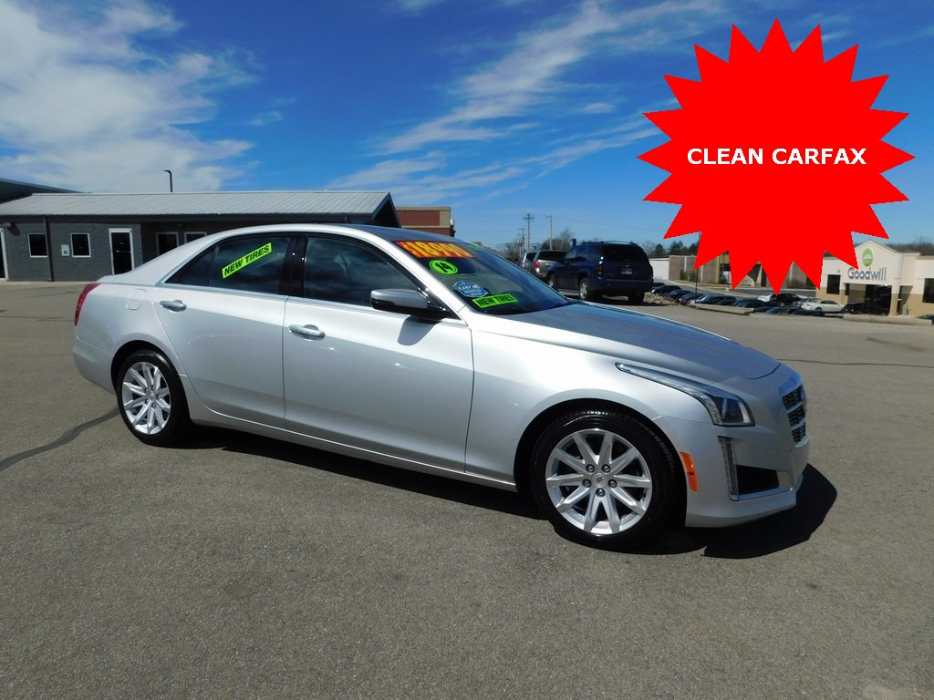 Pre owned 2014 cadillac cts 3 6l luxury with navigation awd