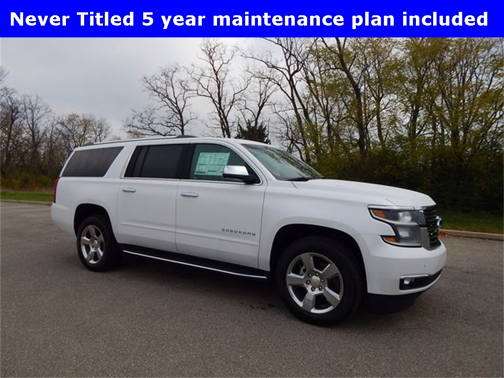 pre-owned 2017 chevrolet suburban premier 4d sport utility in