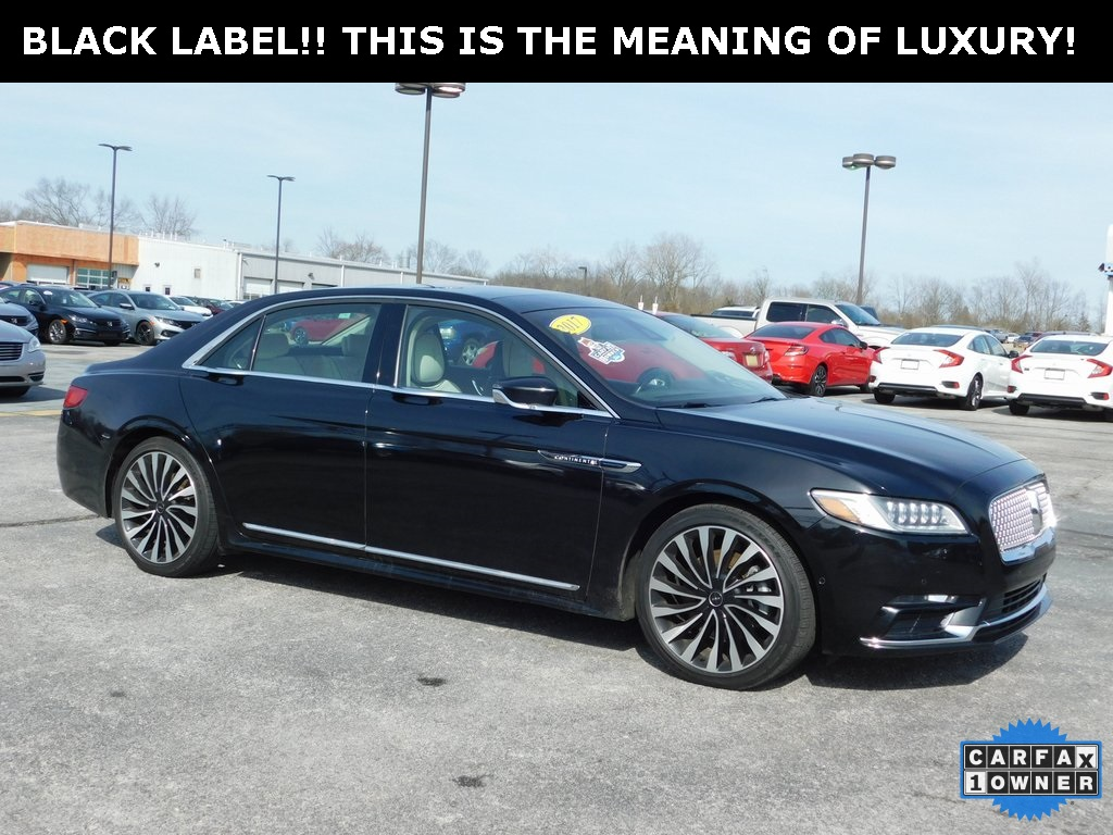 Pre Owned 2017 Lincoln Continental Black Label