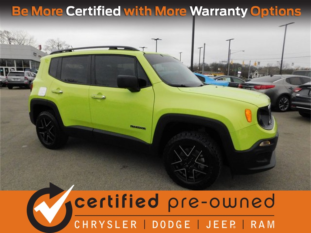 Certified Pre Owned 2017 Jeep Renegade Sport