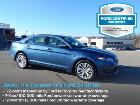 Certified Pre-Owned 2018 Ford Taurus Limited