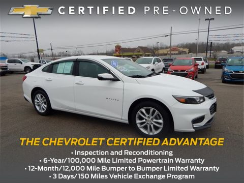 Certified Pre-Owned 2017 Chevrolet Malibu LT