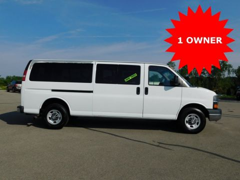 Pre-Owned 2012 Chevrolet Express 3500 LT