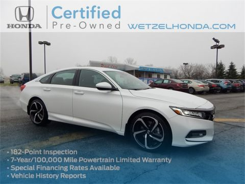 Certified Pre-Owned 2019 Honda Accord Sport